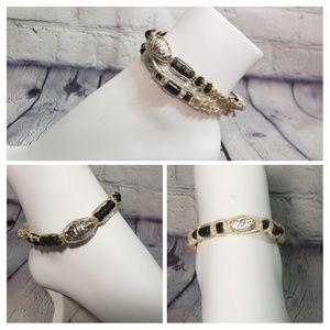 Other - 2 Hemp Unisex Ankle Bracelets with Tribal Beads